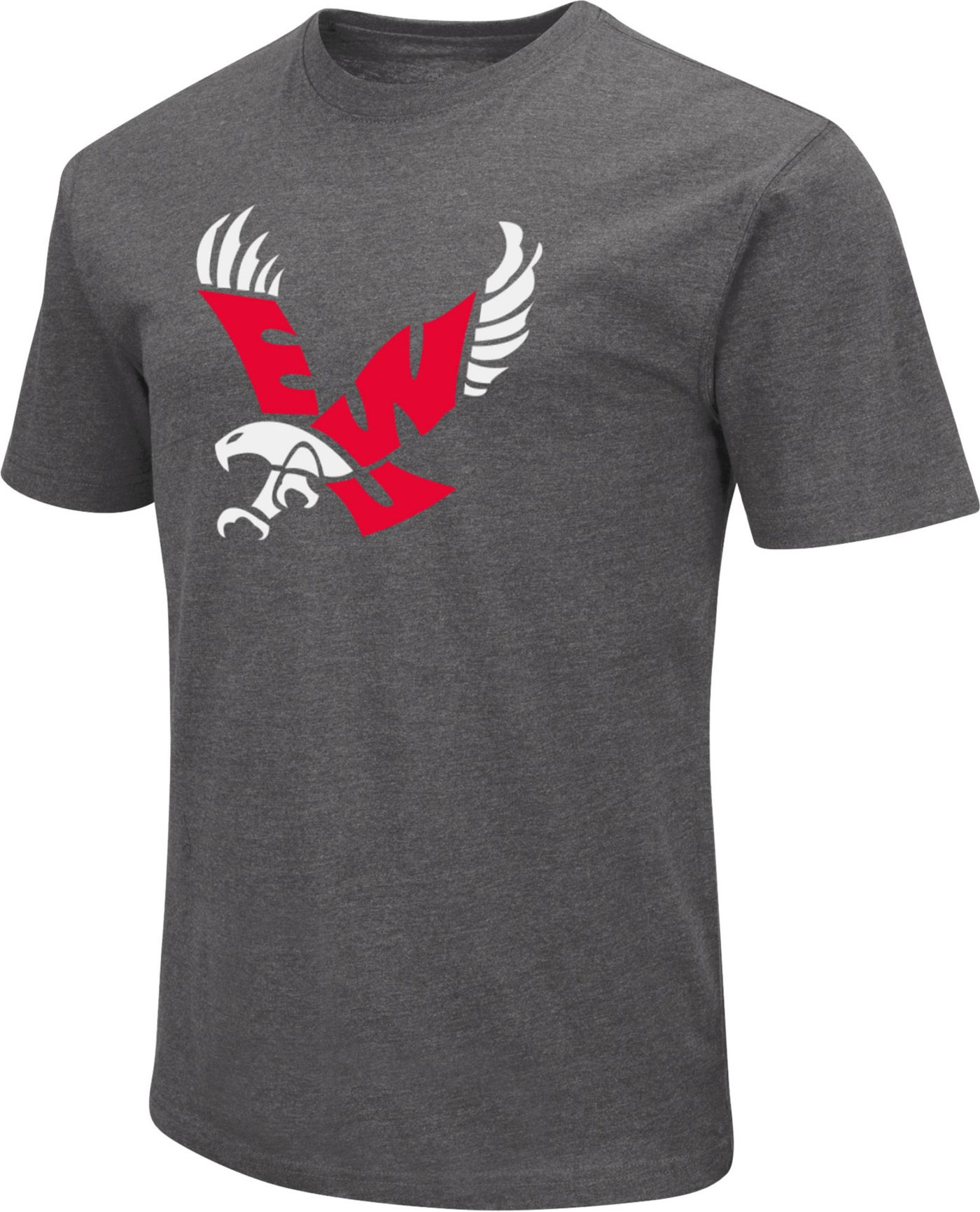 Colosseum Men's Eastern Washington Eagles Grey Dual Blend T-Shirt