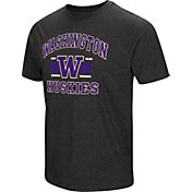Colosseum Men's Washington Huskies Grey Tri-Blend T-Shirt
