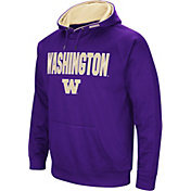 Colosseum Men's Washington Huskies Purple Fleece Pullover Hoodie