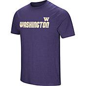 Colosseum Men's Washington Huskies Purple Brushed Performance T-Shirt
