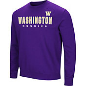 Colosseum Men's Washington Huskies Purple Playbook Fleece