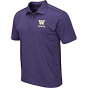 Colosseum Men's Washington Huskies Purple Eagle Polo