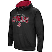 Colosseum Men's Washington State Cougars Pullover Black Hoodie