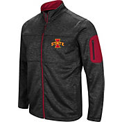 Colosseum Men's Iowa State Cyclones Glacier Full-Zip Black Jacket
