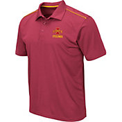 Colosseum Men's Iowa State Cyclones Cardinal Eagle Polo