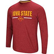 Colosseum Men's Iowa State Cyclones Cardinal Touchdown Long Sleeve T-Shirt