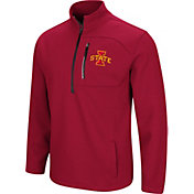 Colosseum Men's Iowa State Cyclones Cardinal Townie Half-Zip Jacket