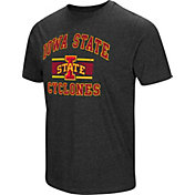 Colosseum Men's Iowa State Cyclones Grey Tri-Blend T-Shirt