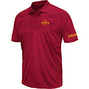 Colosseum Men's Iowa State Cyclones Cardinal Stance Polo