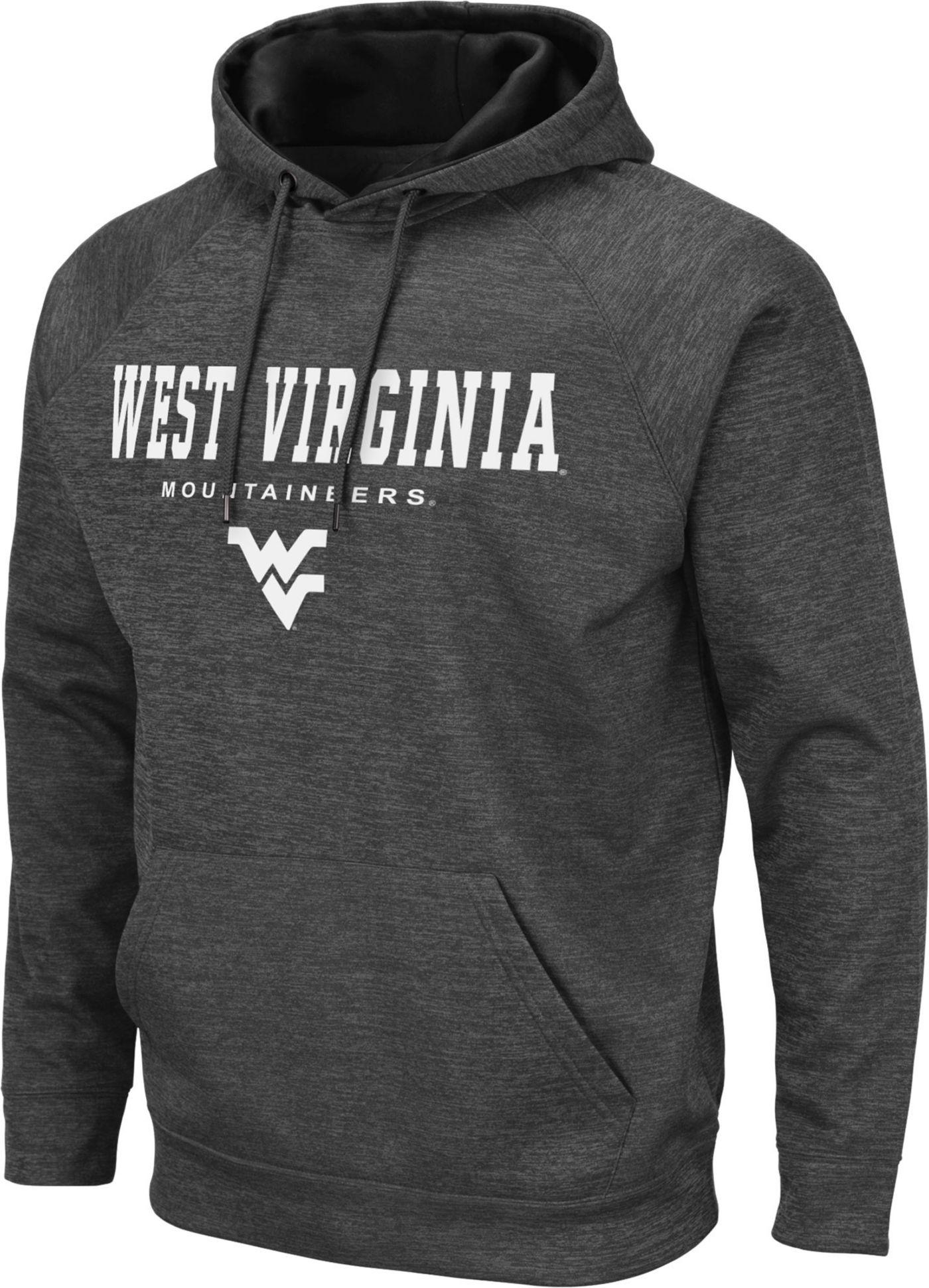 Colosseum Men's West Virginia Mountaineers Grey Pullover Hoodie
