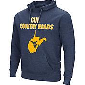 Colosseum Men's West Virginia Mountaineers Blue 'Cue Country Roads' Fleece Hoodie
