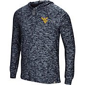 Colosseum Men's West Virginia Mountaineers Blue 5 Crawfish Dinners Long Sleeve T-Shirt