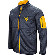 Colosseum Men's West Virginia Mountaineers Blue Glacier Full-Zip Jacket