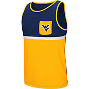 Colosseum Men's West Virginia Mountaineers Blue/Gold Lollygaggers Tank Top