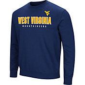 Colosseum Men's West Virginia Mountaineers Blue Playbook Fleece