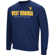 Colosseum Men's West Virginia Mountaineers Blue Playbook Fleece