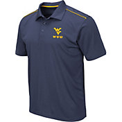 Colosseum Men's West Virginia Mountaineers Blue Eagle Polo
