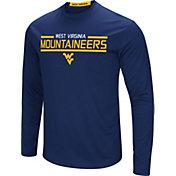 Colosseum Men's West Virginia Mountaineers Blue Long Sleeve Performance T-Shirt