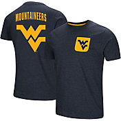 Colosseum Men's West Virginia Mountaineers Blue Voodoo Pocket T-Shirt