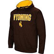Colosseum Men's Wyoming Cowboys Brown Fleece Pullover Hoodie