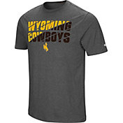 Colosseum Men's Wyoming Cowboys Grey Medula Oblongata T-Shirt