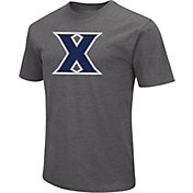 Colosseum Men's Xavier Musketeers Grey Dual Blend T-Shirt