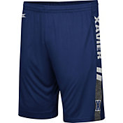 Colosseum Men's Xavier Musketeers Blue Perfect Season Shorts