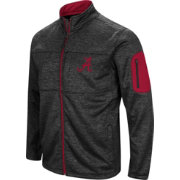 Colosseum Men's Alabama Crimson Tide Glacier Full-Zip Black Jacket