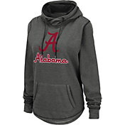 Colosseum Women's Alabama Crimson Tide Grey Pullover Hoodie
