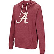 Colosseum Women's Alabama Crimson Tide Crimson I'll Go With You Pullover Hoodie