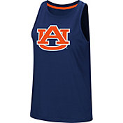 Colosseum Women's Auburn Tigers Blue Bet On Me Muscle Tank Top
