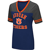 Colosseum Women's Auburn Tigers Blue/Grey The Whole Package T-Shirt