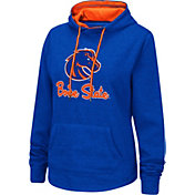 Colosseum Women's Boise State Broncos Blue Pullover Hoodie