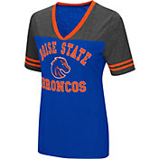 Colosseum Women's Boise State Broncos Blue/Grey The Whole Package T-Shirt