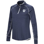 Colosseum Women's Butler Bulldogs Blue Shark Quarter-Zip Shirt
