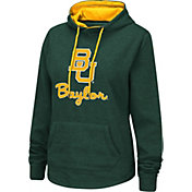 Colosseum Women's Baylor Bears Green Pullover Hoodie