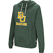 Colosseum Women's Baylor Bears Green I'll Go With You Pullover Hoodie