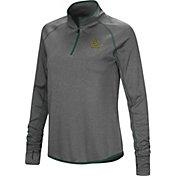 Colosseum Women's Baylor Bears Grey Shark Quarter-Zip Shirt