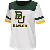 Colosseum Women's Baylor Bears Show Me The Money White T-Shirt