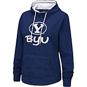 Colosseum Women's BYU Cougars Blue Pullover Hoodie