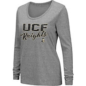 Colosseum Women's UCF Knights Grey Tri-Blend Long Sleeve T-Shirt