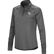 Colosseum Women's UCF Knights Grey Shark Quarter-Zip Shirt