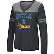 Colosseum Women's UCLA Bruins Dual Blend V-Neck Black T-Shirt