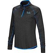 Colosseum Women's UCLA Bruins Shark Quarter-Zip Black Shirt