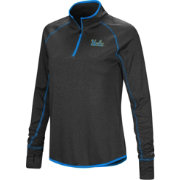 Colosseum Women's UCLA Bruins Shark Quarter-Zip Black Shirt