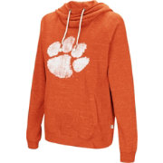 Colosseum Women's Clemson Tigers Orange I'll Go With You Pullover Hoodie