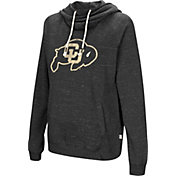 Colosseum Women's Colorado Buffaloes I'll Go With You Pullover Black Hoodie