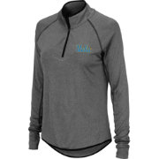 Colosseum Women's UCLA Bruins Grey Quarter-Zip Shirt