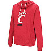 Colosseum Women's Cincinnati Bearcats Red I'll Go With You Pullover Hoodie