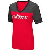 Colosseum Women's Cincinnati Bearcats Red/Grey The Whole Package T-Shirt
